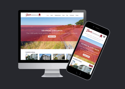 Devon Properties. Website Design & Development. Boutique By Design.