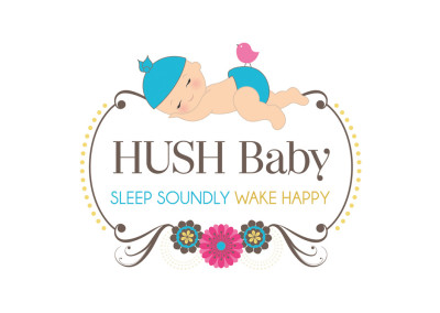 Hush Baby. Logo Design. Boutique By Design.