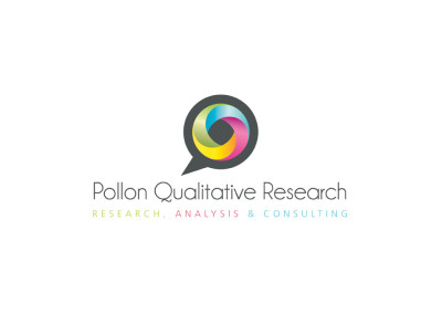 Pollon Qualitative Research. Logo Design. Boutique By Design.