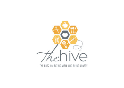 The Hive. Logo Design. Boutique By Design.