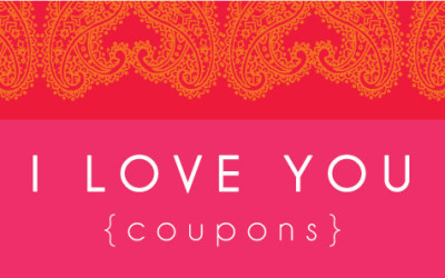 Love Coupons For Kids – Free Printable From Boutique By Design