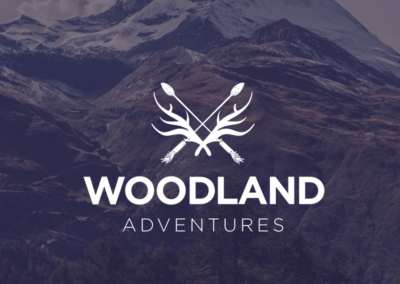 Woodland Adventures. Logo Design.