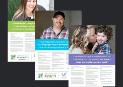 1Up Single Parent Resource Center. Campaign Design.